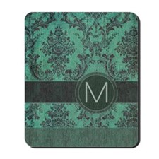 443_slider_monogram_M_02 Mousepad
