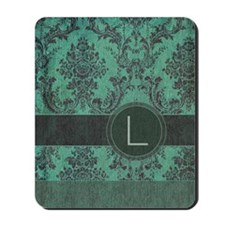 443_slider_monogram_L_02 Mousepad