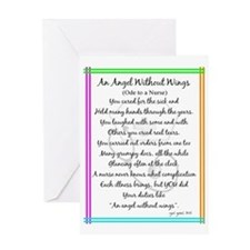 Nurse Poem Greeting Card