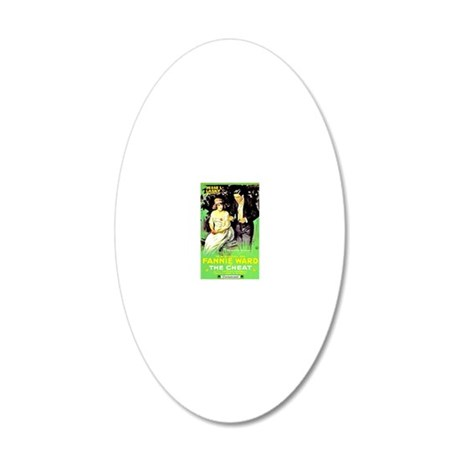 The Cheat 20x12 Oval Wall Decal