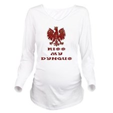 Dyngus Day Long Sleeve Maternity T-Shirt