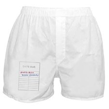 Punk-Ass Book Jockey Boxer Shorts