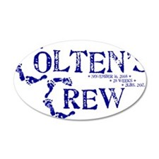 COLTENS CREWonly_BLUE Wall Decal
