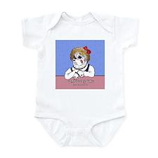 Bulldog Alpha Bitch Infant Bodysuit