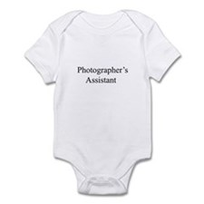 photographer's assistant Infant Bodysuit