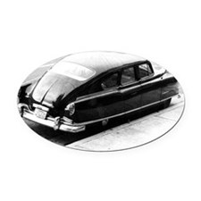 hudson Oval Car Magnet