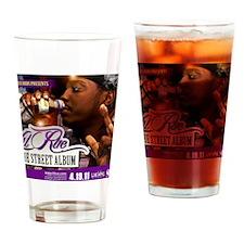 Lil Rue STreet Album poster 16x20 Drinking Glass