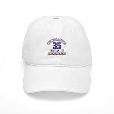 Awesome at 35 birthday designs Baseball Cap