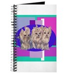 3 Yorkie Puppies Journal