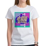 3 Yorkie Puppies Women's T-Shirt