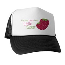 StrawberryBerryBestLittleSisterH Trucker Hat