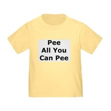 Pee All You Can T