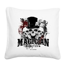 Magician-United Square Canvas Pillow