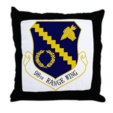98th Range Wing Throw Pillow
