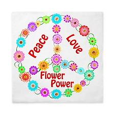 flowerpower Queen Duvet