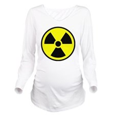 radioactive2 Long Sleeve Maternity T-Shirt