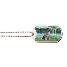 LIC-Birches-Keeshond Dog Tags