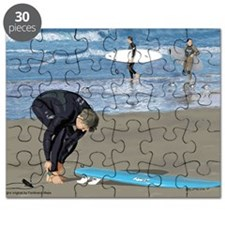 Surfers Wall poster Puzzle
