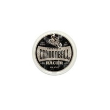 cannonball racer Mini Button