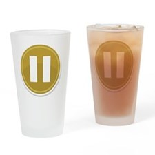 Pause Drinking Glass
