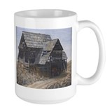 Coffee Mug with painting of old barn