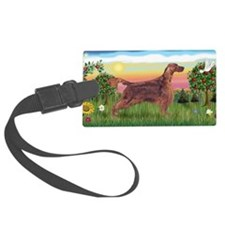 LIC-BriightCountry-IrishSetter Luggage Tag