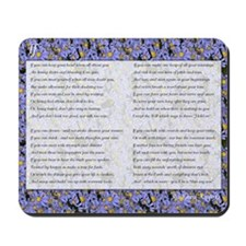 Kipling's If Mousepad