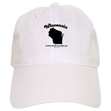 Wisconsin - come smell our dairy air Baseball Cap