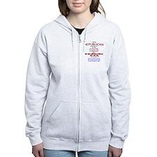ReThuglican T-shirt Zip Hoodie