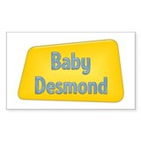 Baby Desmond Rectangle Decal
