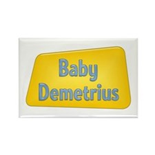 Baby Demetrius Rectangle Magnet
