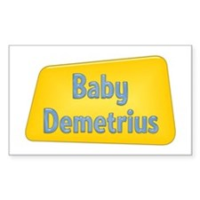Baby Demetrius Rectangle Decal