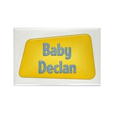 Baby Declan Rectangle Magnet
