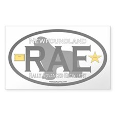 Newfoundland Rally RAE Title Decal