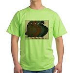 Domestic Show Flights Green T-Shirt