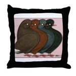 Domestic Show Flights Throw Pillow