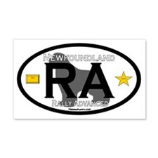 Newfoundland Rally RA Title Wall Decal