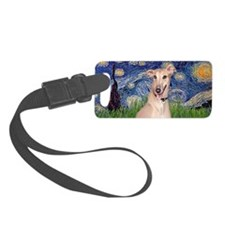LIC-StarryNight-Greyhound Portra Luggage Tag