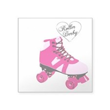 "Roller Derby BS Square Sticker 3"" x 3"""
