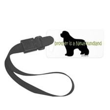 BrotherNewf Luggage Tag