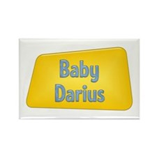 Baby Darius Rectangle Magnet (100 pack)