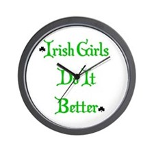 Irish Girls Wall Clock