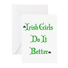 Irish Girls Greeting Cards (Pk of 10)
