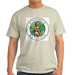 BEAR ASS Sports Ash Grey T-Shirt