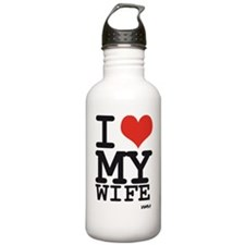 I LOVE MY WIFE Water Bottle