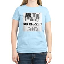 3ID classic Women's Pink T-Shirt