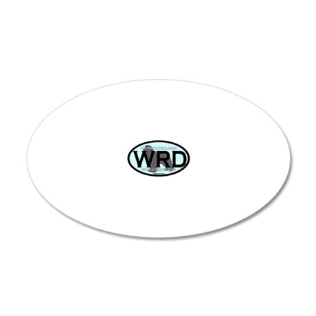 Newfoundland WRD Title 20x12 Oval Wall Decal