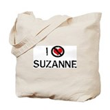 I Hate SUZANNE Tote Bag