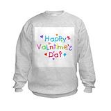Valentine\'s day for kids Crew Neck
