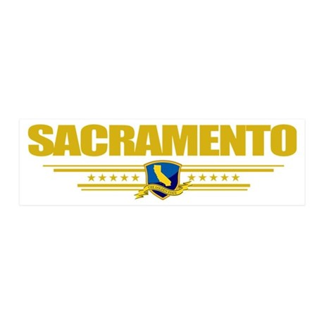Sacramento (Flag 10) pocket 20x6 Wall Decal